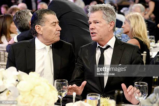 FIDF cochair Haim Saban and David Foster attend Friends Of The Israel Defense Forces Western Region Gala at The Beverly Hilton Hotel on November 3...