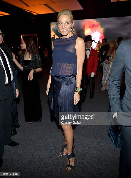 CoChair Jamie Tisch attends the Wallis Annenberg Center for the Performing Arts Inaugural Gala presented by Salvatore Ferragamo at the Wallis...