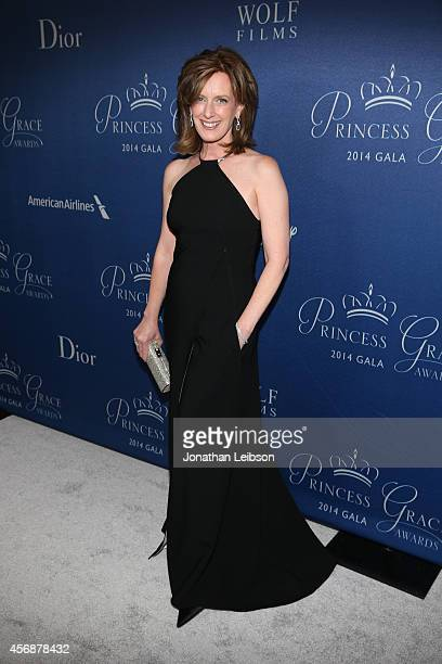 CoChair of Disney Media and President of the Disney–ABC Television Group Anne Sweeney attends the 2014 Princess Grace Awards Gala with presenting...