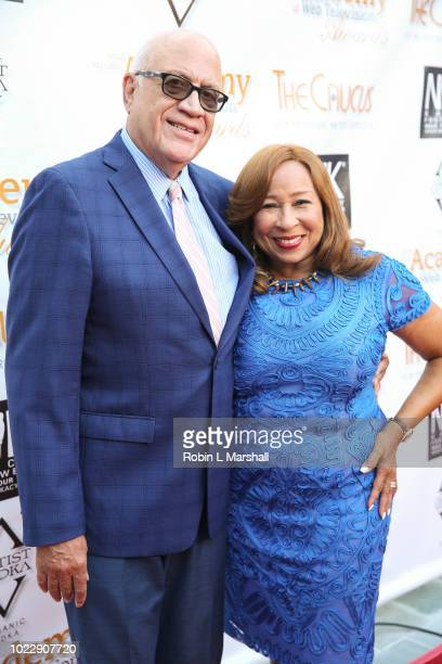 CoChair of The Causus Tanya Hart and Phil Hart attend the 6th International Academy of Web Television Awards at Skirball Cultural Center on August 24...