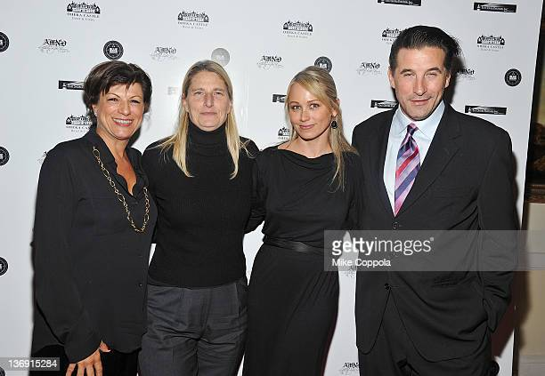 CoChair Project ALS Debbie Wilpon director of research Project ALS Valerie Estess actress Christine Taylor and actor Billy Baldwin attends the 2012 A...
