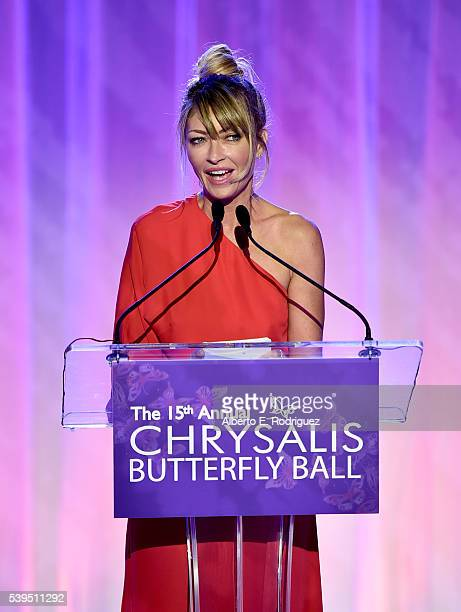 Cochair Rebecca Gayheart attends the 15th Annual Chrysalis Butterfly Ball at a Private Residence on June 11 2016 in Brentwood California