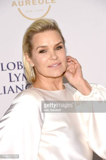 Co-Chair Yolanda Hadid attends the Global Lyme Alliance's 5th Annual New York City Gala at Cipriani 42nd Street on October 10, 2019 in New York City.