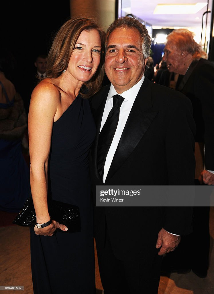 Co-Chairman and CEO, Fox Flmed Entertainment, Jim Gianopulos and Ann Gianopulos attend the 70th Annual Golden Globe Awards Cocktail Party held at The Beverly Hilton Hotel on January 13, 2013 in Beverly Hills, California.