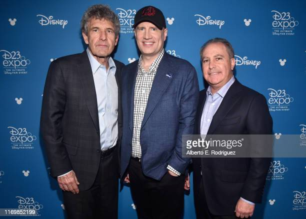Co-Chairman and Chief Creative Officer of The Walt Disney Studios Alan Horn, President of Marvel Studios Kevin Feige and Co-Chairman, The Walt Disney...