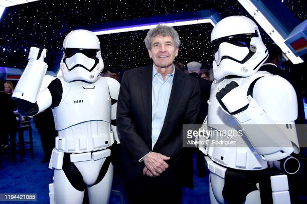 """Co-Chairman and Chief Creative Officer of The Walt Disney Studios Alan Horn attends the World Premiere of """"Star Wars: The Rise of Skywalker"""", the..."""
