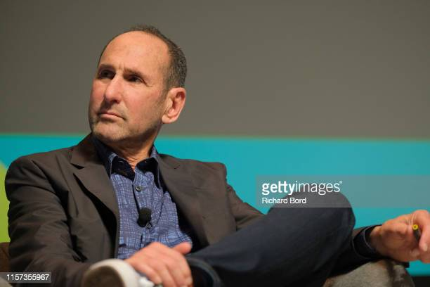 Cochairman and Partner Goodby Silverstein and Partners Jeff Goodby speaks on stage during the Lion of St Mark session at the Cannes Lions 2019 Day...