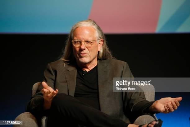 Cochairman and Partner Goodby Silverstein and Partners Rich Silverstein speaks on stage during the Lion of St Mark session at the Cannes Lions 2019...