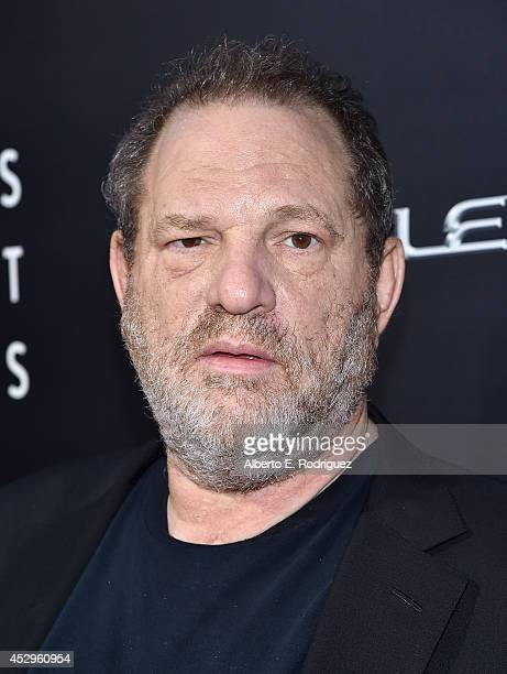 Cochairman of The Weinstein Co Harvey Weinstein arrives to The Weinstein Company and Lexus Present Lexus Short Films at The Regal Cinemas LA Live on...
