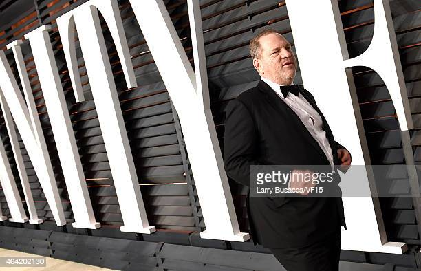 CoChairman of The Weinstein Company Harvey Weinstein attends the 2015 Vanity Fair Oscar Party hosted by Graydon Carter at the Wallis Annenberg Center...
