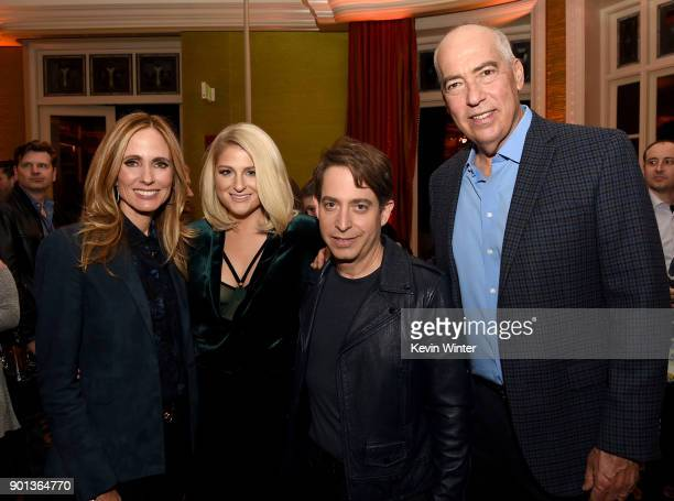CoChairman/CEO Fox Television Group Dana Walden Meghan Trainor Charlie Walk and CoChairman/CEO Fox Television Group Gary Newman attend the FOX...
