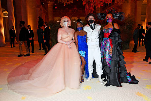 NY: The 2021 Met Gala Celebrating In America: A Lexicon Of Fashion - Inside