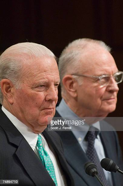 Co-chairs James A. Baker III, former secretary of state and honorary chairman of the Baker Institute, and Lee H. Hamilton, former congressman and...