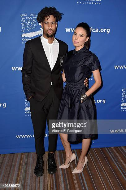 CoChairs Josiah Bell and Jurnee SmollettBell attend Children's Defense FundCalifornia 25th Annual Beat The Odds Awards at Regent Beverly Wilshire...