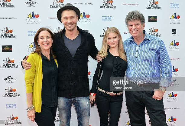 CoChairs Joyce Trabulus and Dr Josh Trabulus of the Bogart Pediatric Foundation and actor Chad Michael Murray and guest arrive for the Bogart...