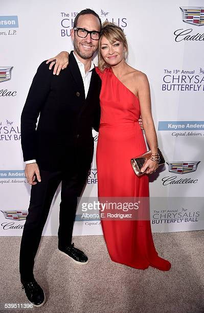 Cochairs Richard Weitz and Rebecca Gayheart attend the 15th Annual Chrysalis Butterfly Ball at a Private Residence on June 11 2016 in Brentwood...