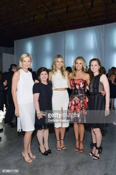 CoChairs Stephanie Booth Shafran Beth Friedman honoree Gwyneth Paltrow Natasha Croxall and Hillary Milken attend UCLA Mattel Children's Hospital...