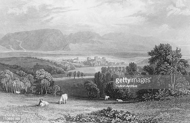 Cockermouth, Cumbria, circa 1750.