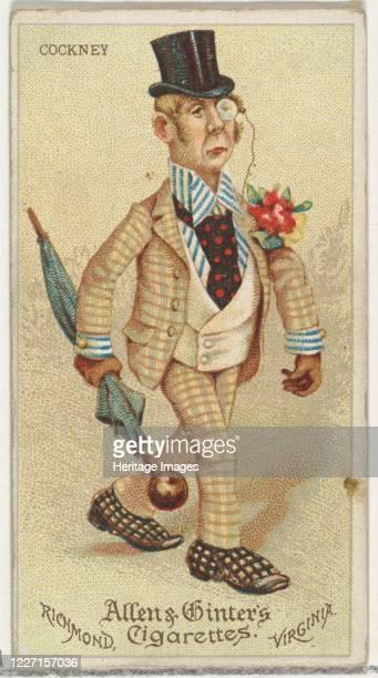 Cockney from World's Dudes series for Allen Ginter Cigarettes 1888 Artist Allen Ginter