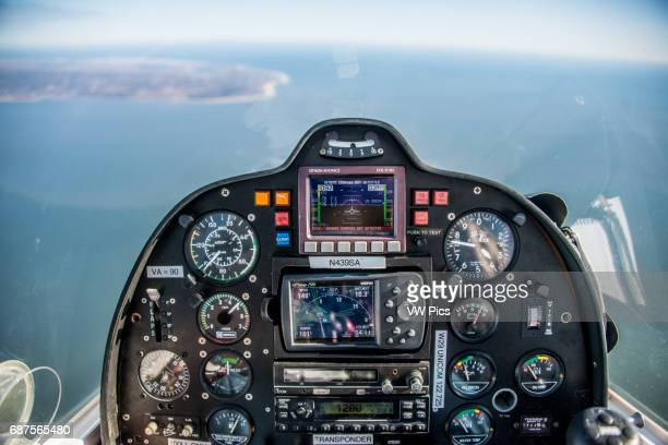 Cockpit during flight from Cape May NJ