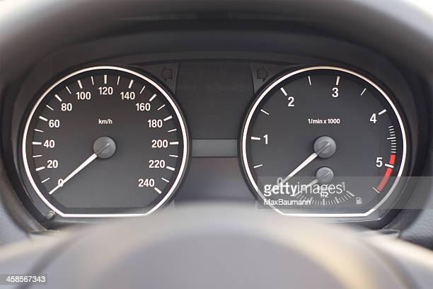 Cockpit in einem BMW