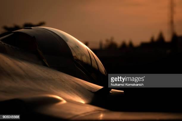 cockpit of grippen fighter aircraft - avion de chasse photos et images de collection