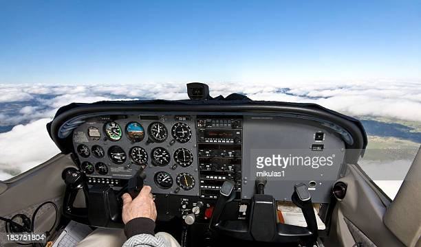 cockpit - co pilot stock photos and pictures