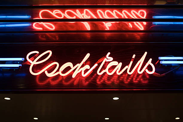 Cocktail bar sign
