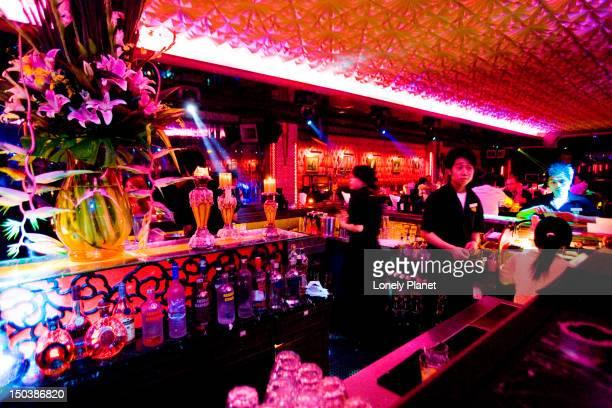 Cocktail bar, World of Suzie Wong.
