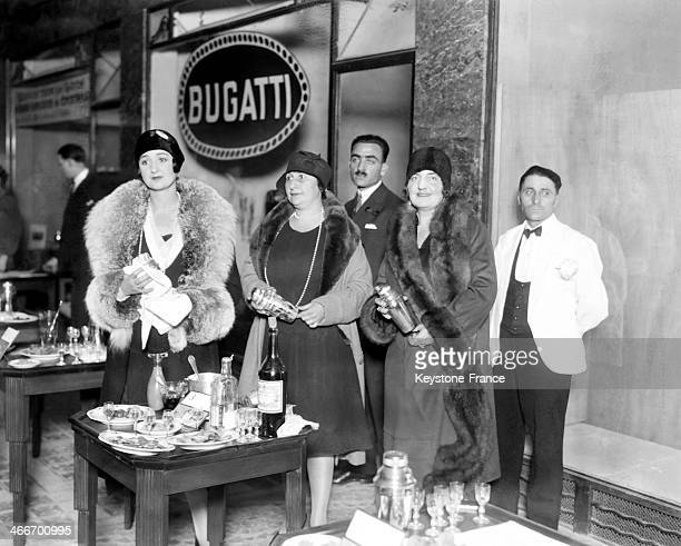 Cocktail contest in November 1929 in Paris France