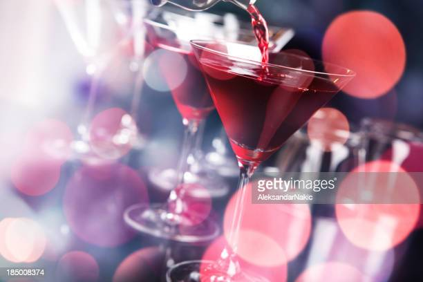 Cocktail in a nightclub