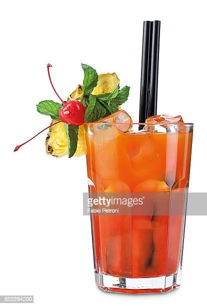cocktail - mai tai fotografías e imágenes de stock