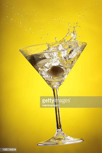 Cocktail-Splash-Gelb
