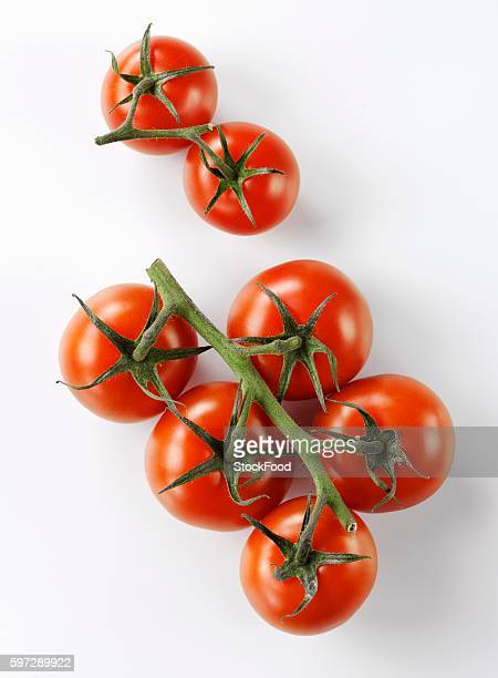 Cocktail tomatoes on the vine
