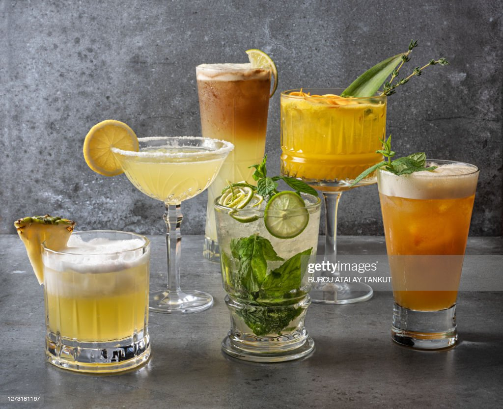 Cocktail Variations : Stock Photo