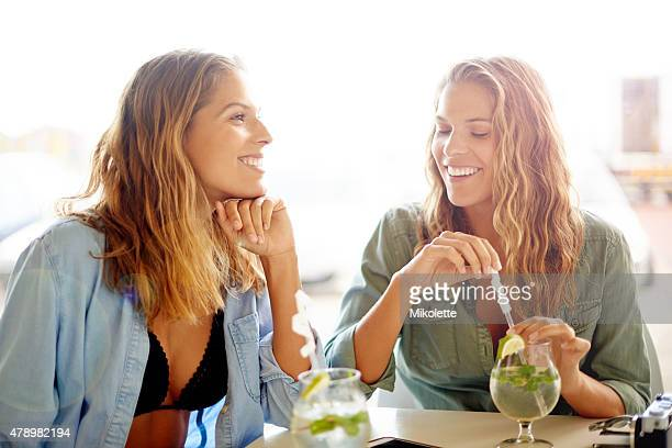 Cocktails and good conversation