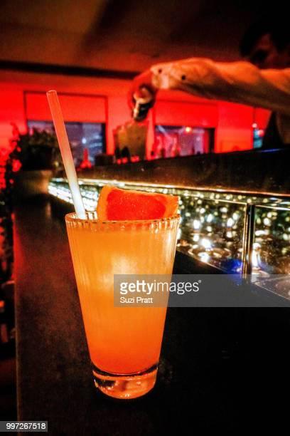 Cocktails at SEVVA BAR in Hong Kong