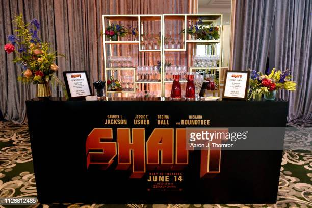 Cocktails displayed at the 2019 Essence Black Women in Hollywood Awards Luncheon at Regent Beverly Wilshire Hotel on February 21 2019 in Los Angeles...