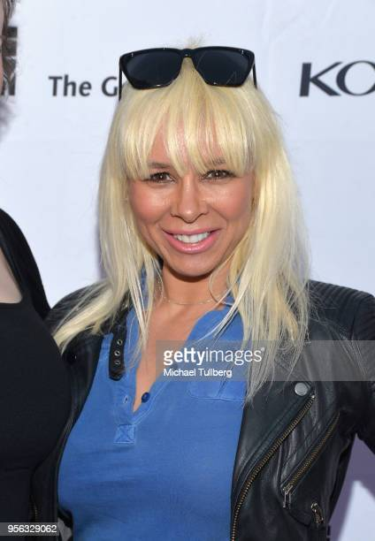 Coco Accom attends BritWeek at The Getty Villa on May 8 2018 in Pacific Palisades California