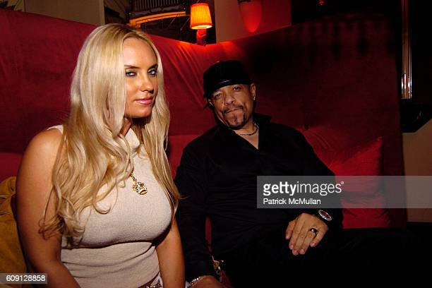 Coco and Ice T attend 15th Anniversary of Phat Fashions Hosted by Kimora Lee Simmons and Russell Simmons at Cipriani 23rd st NYC on February 2 2007