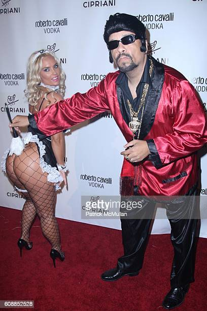 Coco and Ice T attend ROBERTO and EVA CAVALLI and GIUSEPPE CIPRIANI Along With ROBERTO CAVALLI VODKA Host a Halloween Party at CIPRIANI 42nd St at...