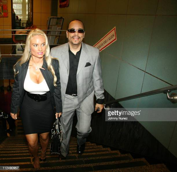 CoCo and Ice T during Mayor BloombergVH1 Save The Music Foundation and Time Warner Cable Announce Million Dollar Donation to New York City Public...