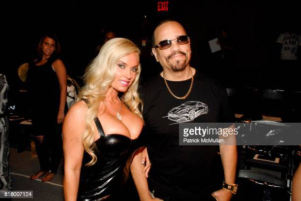 Coco and IceT attend Richie Rich 2011 Fashion Show at The Studio at Lincoln Center on September 9 2010 in New York City