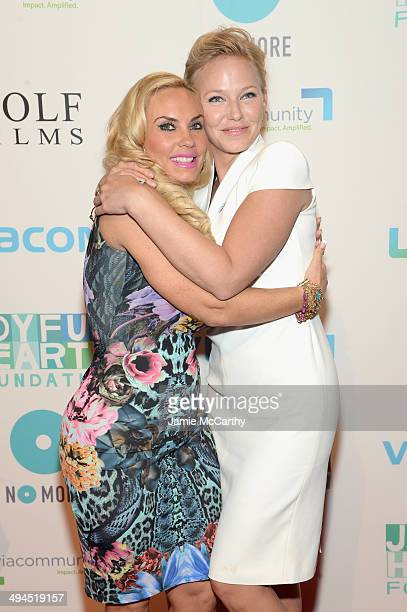 Coco and Kelli Giddish attend the Joyful Heart Foundation Presents The Joyful Revolution Gala 10th Anniversary Celebration at Cipriani 42nd Street on...