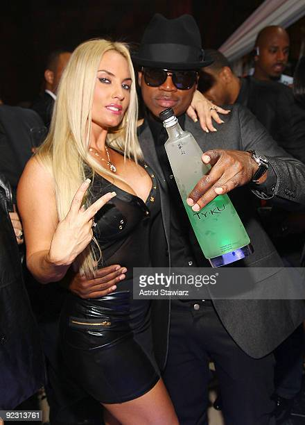 """Coco and NE-YO attend the 30th Birthday Bash """"Cold as Ice"""" at Cipriani 42nd Street on October 17, 2009 in New York City."""