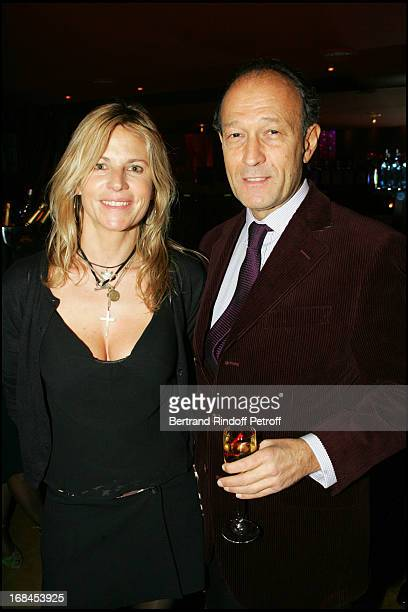 Coco and Thierry Gaubert at 100th Episode Of Campus Of Guillaume Durant At Le Cafe De L'Homme Restaurant At The Trocadero