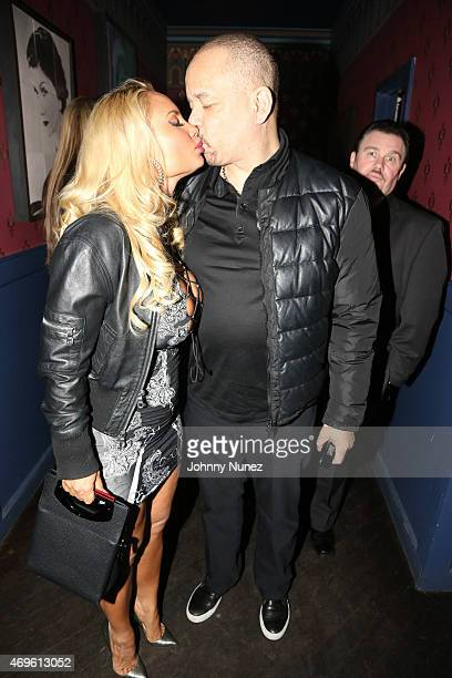 Coco Austin and IceT attend Austin's birthday party at The Leonora on April 11 2015 in New York City