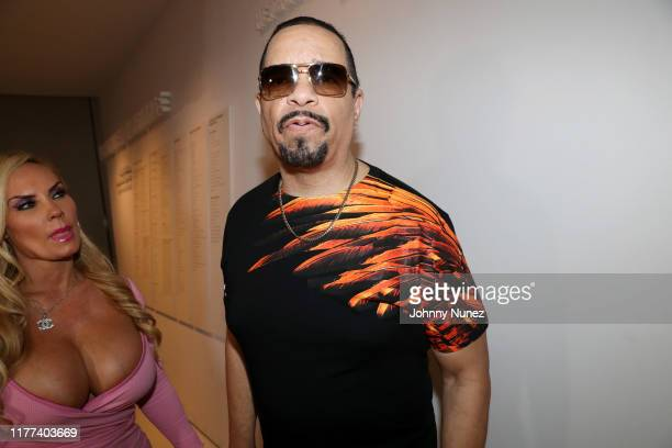 Coco Austin and IceT attend the Equal Standards New York Screening at Museum of the Moving Image on September 26 2019 in New York City