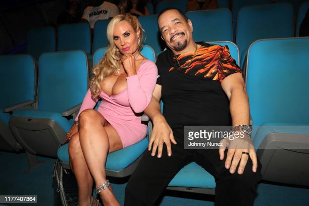 "Coco Austin and Ice-T attend the ""Equal Standards"" New York Screening at Museum of the Moving Image on September 26, 2019 in New York City."