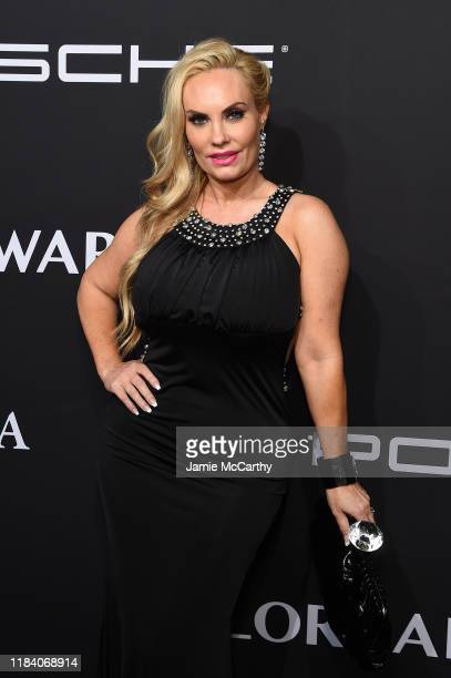 Coco Austin arrives at the Angel Ball 2019 hosted by Gabrielle's Angel Foundation at Cipriani Wall Street on October 28 2019 in New York City